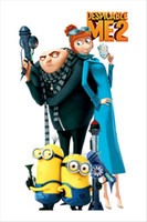 Wholesale Despicable Me Minion Movie Decal Removable Wall Stickers Home Decor Art Kids Nursery Room Cartoon Wall Art