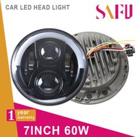 H4 Front Turn Signals The high beam JEEP HEADLIGHT 6PCS*10W high intensity CREE LEDs, Plug & Play, LED Ballast, LED Canbus & H4 H13 Adapter Included LED Headlight with Halo Ang