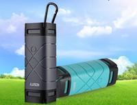 Wholesale hot Bluetooth Wireless Speaker Outdoor Water proof Muti funtion Speaker Self Timer Hands free Mic Power Bank Outdoor Speaker