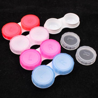 Wholesale Pocket Contact Lens Box Case for Eyes Care Kit Holder Container Keep Health Brand New And High Quality