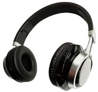 best headphone radio - D best sell colorful LED flashing bluetooth mp3 radio headphones from OEM ODM factory