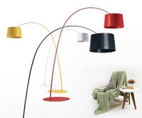 Wholesale Foscarini Twiggy Terra Floor Lamp Fishing Floor Lamp Modern Minimalist Fashion Black Yellow Red White Living Room Bedroon Meeting Room Light