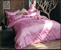 Wholesale Light Purple Blue Flower and Butterfly Bedding Set Queen Size Cotton Quilt Duvet Cover Bed Sheet Cotton Pillowcase