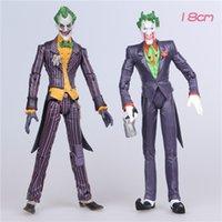 batman vs the joker - 18cm Batman The Joker Movable joints PVC Action Figure DC comics the dark knight rises Collectible Model Toy weapons Toys vs superman gifts
