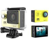 Wholesale Novatek Chepset HD p waterproof Wireless k Outdoor Video Helmet portable sport camera WIFI