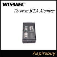 Wismec Teorema RTA Reconstruible tanque atomizador con el diseño de la tapa de llenado y estructura desmontable Wismec Teorema del tanque del envío el 100% Genius