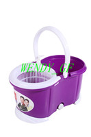 Wholesale 360 Rotating Head Double Drived Easy Life Magic Floor Mop PP Bucket Head Squre Style Spinning As CLeaning Tools New style