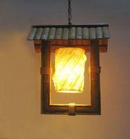 Wholesale Retro nostalgic classical Chinese style corridor corridor bar restaurant cafe creative personality kerosene lantern pendent lamp