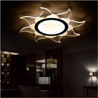 Wholesale 2016 new design Super thin Modern round led surface mounted ceiling lights lamp light Home Livingroom Bedroom led ceiling Lamps
