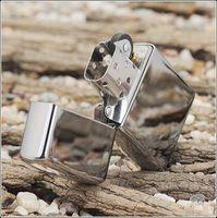 best lighter brand - Oil Lighters refillable Mirror Surface design brand style Best Gift