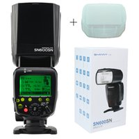 Wholesale High quality SHANNY SN600N wireless flash mode TTL speedlite for Nikon DSLR camera photo flash camera flash flash speedligh