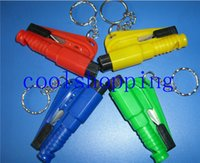 Wholesale Outdoor Survival Escape Tool in Emergency Mini Safety Hammer Auto Car Window Glasses Breaker Cutter Rescue Hammer