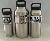 Wholesale New YETI OZ Stainless Steel Colster can Yeti Coolers Rambler Colster YETI Cups Cars Beer Mug Insulated Koozie yeti stainless color