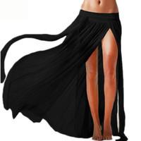 sunscreen - New Women Sexy Beach Europe and transparent elastic mesh veil beach skirt bikini sunscreen Cover UP Dress Swimsuit For Women KL00508