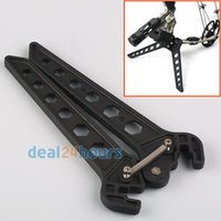 archery stand - New Archery Bow Kick Stand Holder Legs for D Shoot Range Target Hunting Black order lt no track
