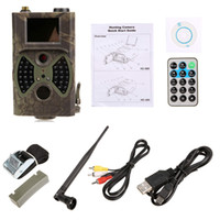 Wholesale Wireless Deer Trail Camera Forest Scouting Cameras MMS GPRS GSM with Night Vision LEDs for Video recording Factory Price