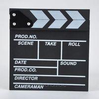 Wholesale 1 Good Use Cute Classical Director Video Scene Clapperboard TV Movie Clapper Board Film Cut Prop JL DA1144
