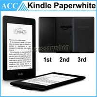 Wholesale Original Amazon Kindle Paperwhite inch st nd rd Generation eBook eReader Wifi Black Color