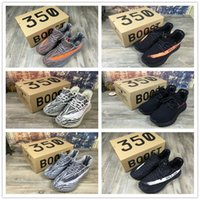 Wholesale 1 Version Boost V2 Kanye West Season SPLY Boost V2 Shoes Best Quality Steel Grey Beluga Solar Red