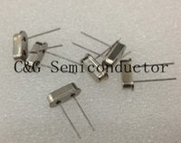 Wholesale Free shiping HC S M MHz MHz Passive Quartz crystal resonator S Crystal Oscillator New products and ROHS