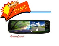 Wholesale quot LCD RearView Mirror Car Reverse Color Monitor Touch Screen Buttons for Reversing Parking Camera
