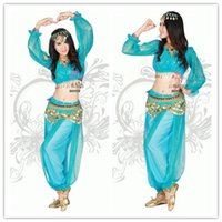 belly dancer costume for women - sexy princess jasmine costume adults princess jasmine halloween costumes for women aladdin cosplay outfit belly dancer costume