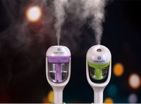Wholesale New Nanum car charger humidifier aromatherapy spray humidification purifier anion air purifier creative