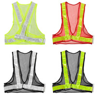 Wholesale Hot Sale Outdoor High Visibility Reflective Vest Warning Traffic Construction Safety Security Gear Labor Clothes Mesh