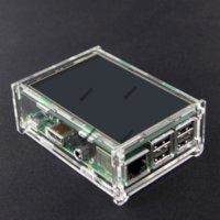 acrylic model display case - New Raspberry pi inch LCD TFT Touch Screen Display Shield Acrylic case for Raspberry Pi Model B and