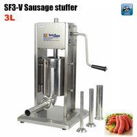 Wholesale SF3 V Vertical Type Manual Sausage Stuffer stainless steel sausage stuffer meat filler sausage making machine Sausage filler