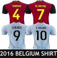 belgian red - Belgium jersey Eden hazard DE BRUYNE vermaelen kompany red blue sky Belgian football jersey shirt
