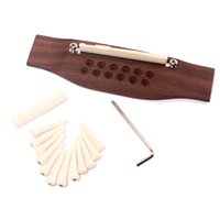 Wholesale Traditional string Rsewd Bridge Steel String Acoustic Guitar with bridge pin