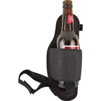 beer holders custom - OEM durable custom logo leg can drink beer bottle holder holster