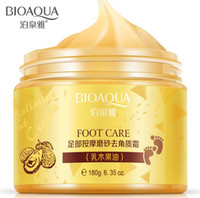 baby butter - BIOAQUA K GOLD Shea Butter exfoliating foot massage cream Foot peeling renewal mask baby foot skin smooth feet care cream