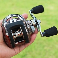 Wholesale 18 BB Baitcasting Fishing Reel Saltwater Freshwater Fishing Tackle Gear Portable Travel Bait Casting Fishing Gear Reels