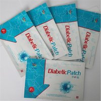 Wholesale 25PCS set Diabetic Patch For Lowering Blood Sugar Blood Glucose Chinese herb Health product diabetes patch Decrease blood sugar