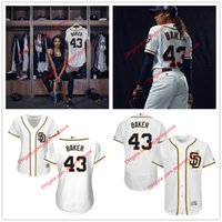baseball pitches - 2016 TV Series Pitch Ginny Baker Jersey Kylie Bunbury San Diego Padres Jerseys Women Men Youth
