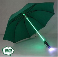 Wholesale LED umbrella Seven colors lighting umbrella Flash umbrella Gift umbrella