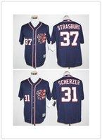 best quick games - Washington Nationals Max Scherzer Jersey Navy Blue Cheap Stephen Strasburg Game Baseball Jersey Best Quality