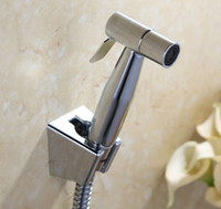 bidet douche spray hose kit - Stainless Steel Toilet Handheld Diaper Sprayer Shower Shattaf Bidet spray Douche kit Jet Hose Holder BD299