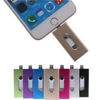 Wholesale NEW IN i Flash Drive GB GB GB GB U Disk pin Pendrive Memory Stick For iPhone Android PC