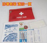 bag drug - Sunstroke supplies set summer gifts gift bag employee welfare high temperature condolences first aid kit drug based medicine