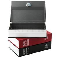 Wholesale Dictionary Secret Book Money Hidden Secret Security Safe Lock Cash Money Jewellery Locker Box