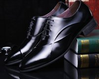 basic business - British style classic vintage fashion loafer mens casual shoes genuine leather black basic flats men business