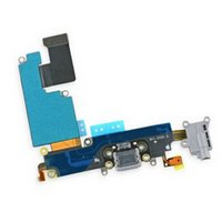 Wholesale Brand New For iPhone plus inch Charger Headphone Audio Dock Connector Charging Data Port Flex Cable