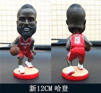 basketball comic - Miniverse America Basketball Team Huston Rockets James Harden Doll Blue Action Cartoon Series Resin Collection Gift