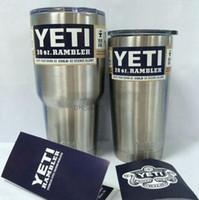 Wholesale Hot Sale Rambler Tumbler oz oz YETI Cups Car Beer Mug Large Capacity Mug Tumblerful