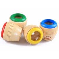 Al por mayor-explorar el mágico Kaleidoscope juguetes de madera juguetes educativos abeja Efecto Ojo