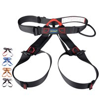 climbing harness - Superior Quality Rock Climbing Harness Climbing Seat Belts Outdoor Sports Mountaineering Bust Seat Harness Downhill Safety Harness