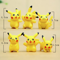 Wholesale Action Figure Toys Poke Balls Pokeball Mini PVC Model Toys Classic Anime Pikachu Model Toys Cartoon Anime Figures Movies Toys